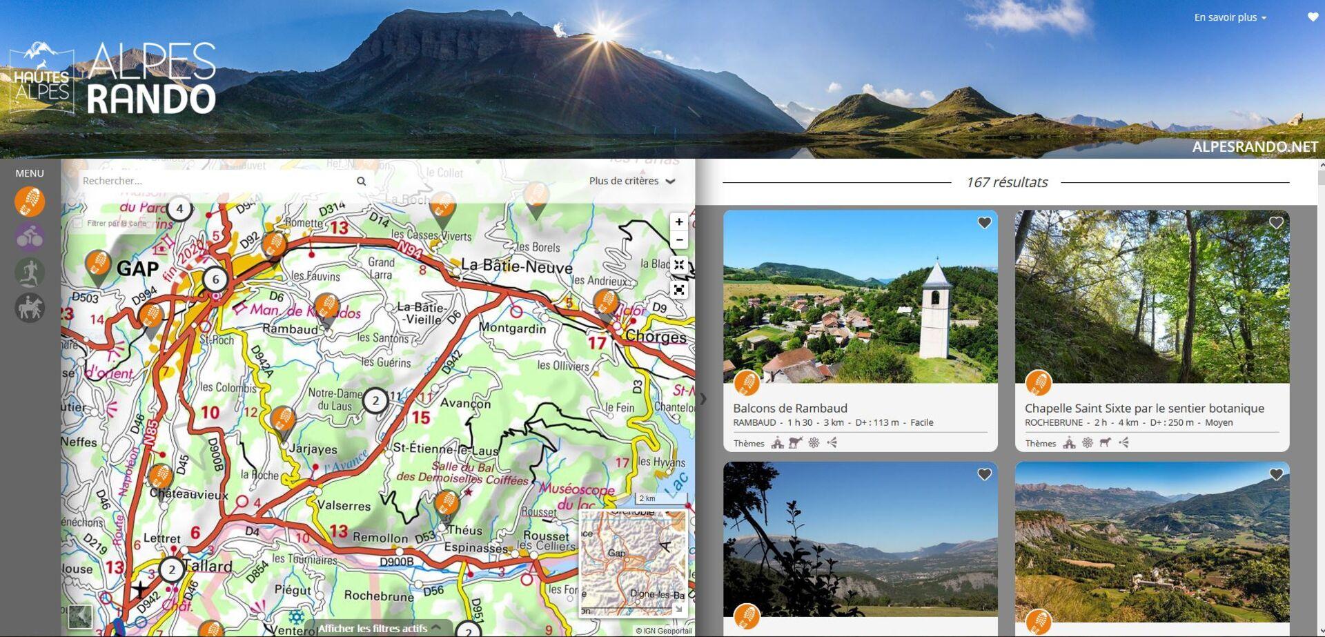 Alpesrando.net, toutes les randos des Hautes-Alpes
